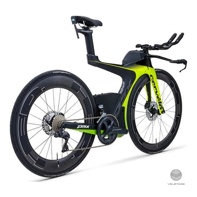 P5X Ultegra Di2 Triathlon Bike incl. Bike Bag - Schwarz