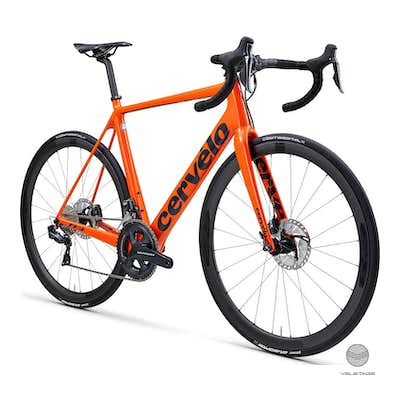 R3 Disc Ultegra Di2 Road Bike 2019 - Orange