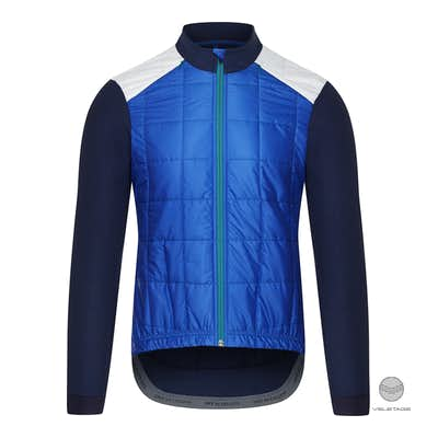 Cafe du Cycliste - LEONIE M windproof jacket - Blau