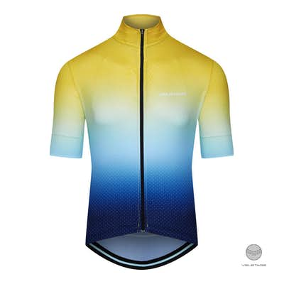 Cafe du Cycliste - FLEURETTE M Jersey Superlight - Gelb