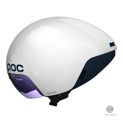 POC - Cerebel Raceday - Weiss