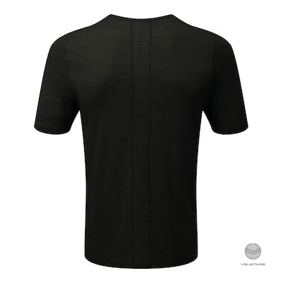 ashmei - M's Short Sleeve Baselayer - Schwarz