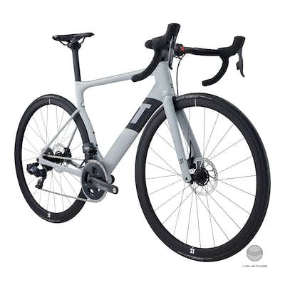 3T - STRADA DUE Team Force AXS eTap Aero Bike - H'Grau