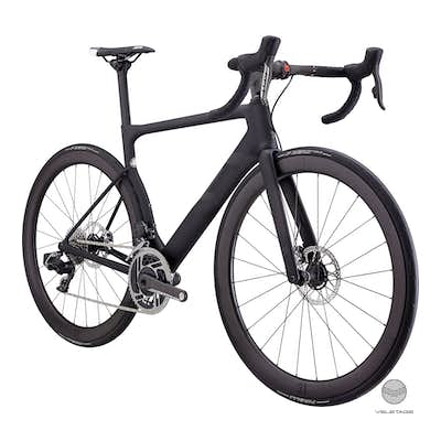 3T - STRADA DUE Team Stealth Red AXS eTap Aero Bike - Schwarz