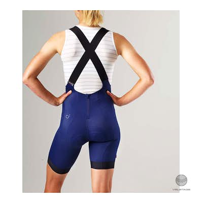 Signature Fly Bib Shorts - Blau