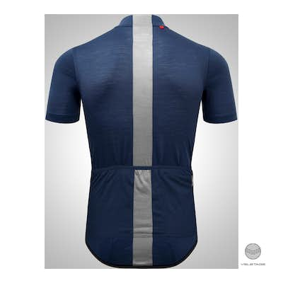 M's CLASSIC CYCLE Jersey SS - D'blau