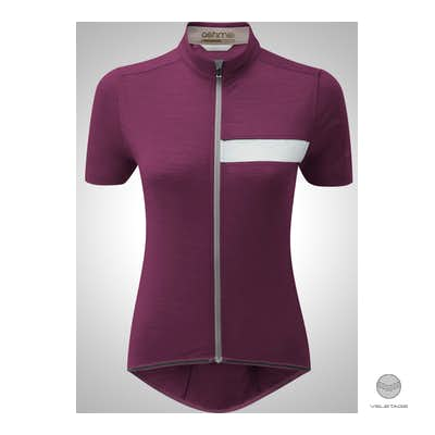 W's CLASSIC CYCLE Jersey SS - Violett