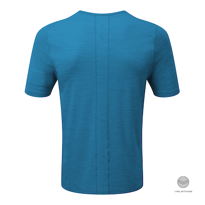 ashmei - M's Short Sleeve Baselayer - Blau