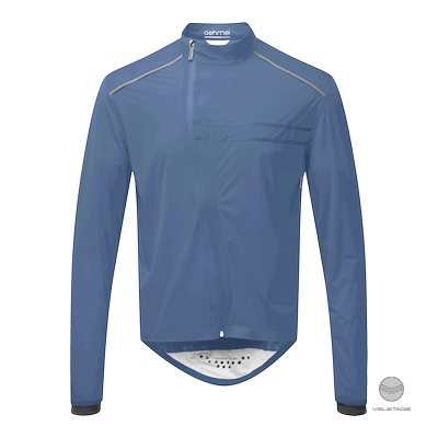 ashmei - M's CYCLE WATERPROOF Jacket - Blau