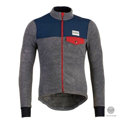 Cafe du Cycliste - ALPHONSINE Fleece Jersey - Grau