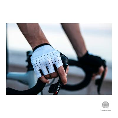 Cafe du Cycliste - SUMMER Mitts - Weiss
