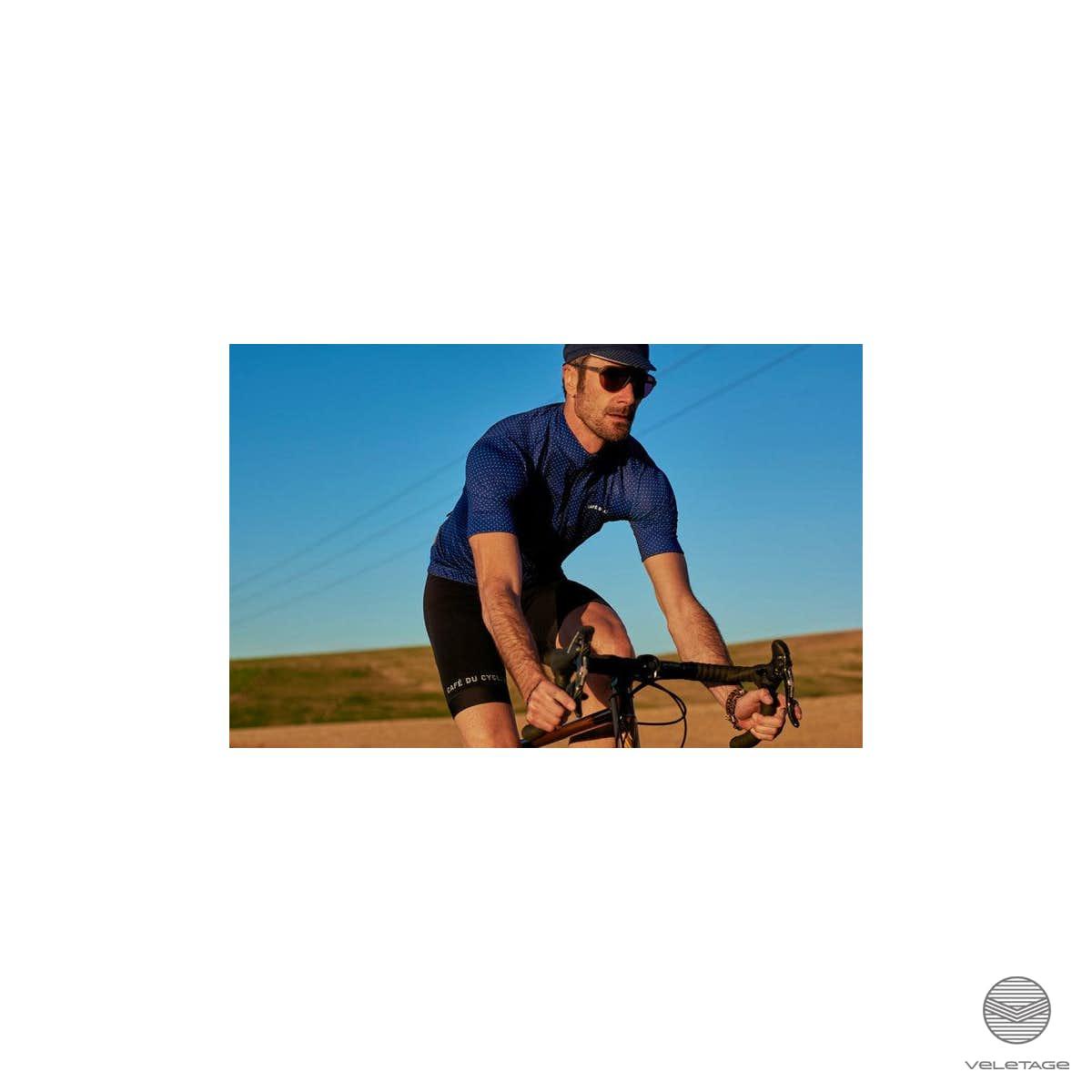 65717df21 Cafe du Cycliste ▷ FLEURETTE Jersey Superlight - D blau - veletage Wien