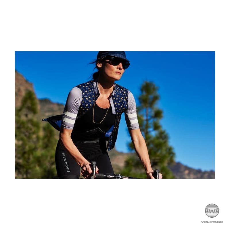 5da832944 Cafe du Cycliste ▷ DOLORES W jersey superlight - D blau - veletage Wien
