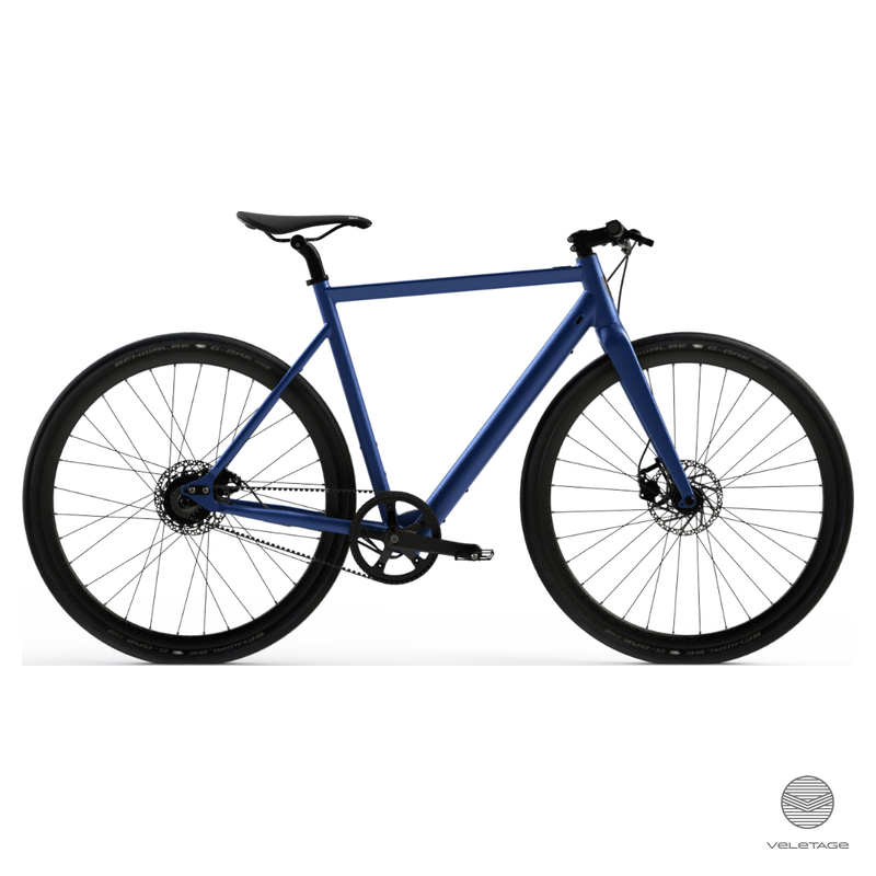 6 KU Singlespeed & Fixie Frisco hellblau silber Bicycle