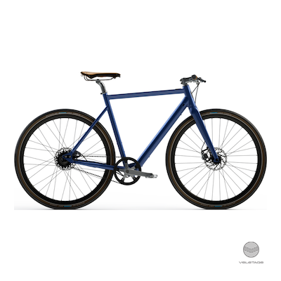 Desiknio - SINGLE SPEED - CLASSIC Commuter e-Bike - Blau
