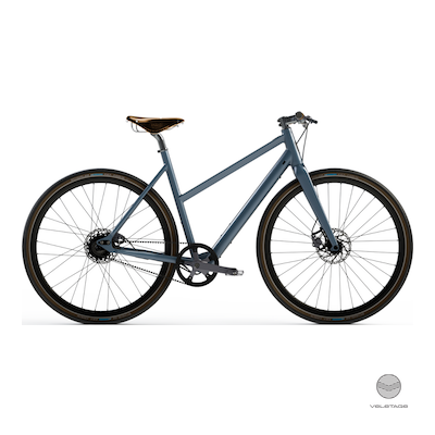 Desiknio - SINGLE SPEED - CLASSIC Commuter e-Bike - Grau