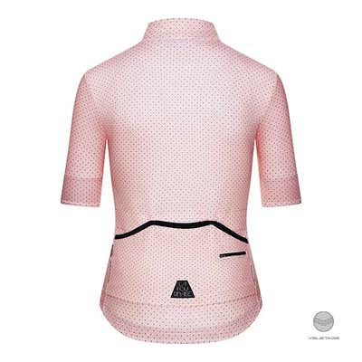 Cafe du Cycliste - FLEURETTE W Jersey Superlight - Rosa