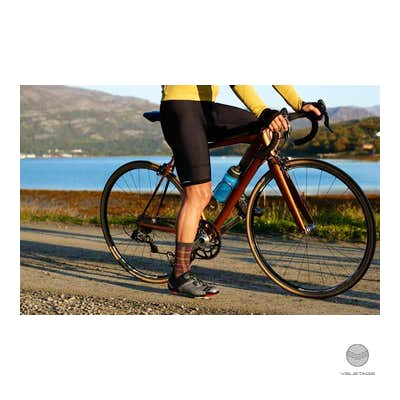 Cafe du Cycliste - ADELE M winter bib shorts - Schwarz