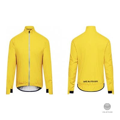 Cafe du Cycliste - SUZETTE M packable rain jacket - Gelb
