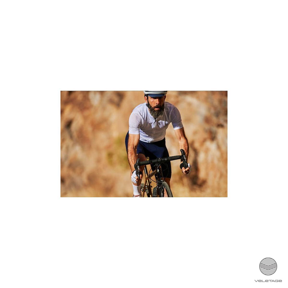 99539e710 Cafe du Cycliste ▷ MICHELINE Jersey Ultralight Mesh - Weiss ...
