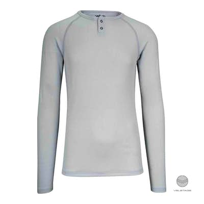 velocio - Men's Merino 160 Base Layer LS - H'Grau