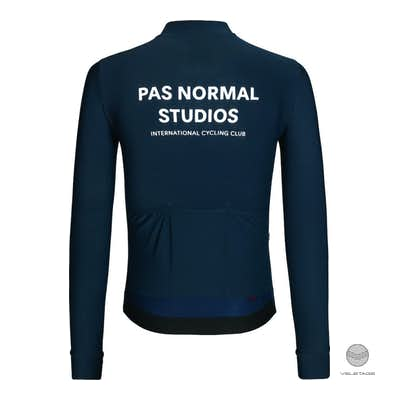 Pas Normal Studios - Long Sleeve Jersey  - Dunkelblau
